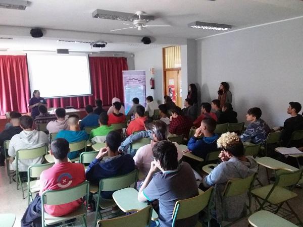 Asociación Sosdesaparecidos. IES El Sobradillo. Canarias.