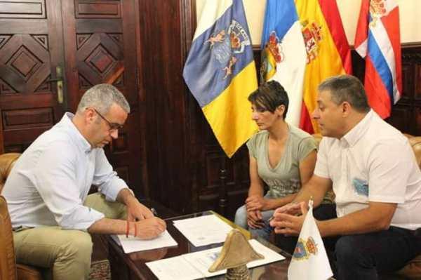 Asociación Sosdesaparecidos. Convenios ayuntamientos de Canarias