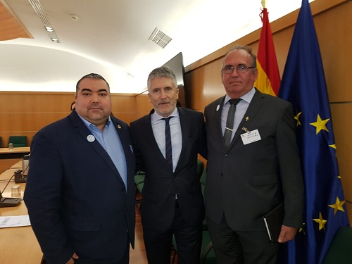 Asociación SOSDesaparecidos. Fernando Grande-Marlaska. Joaquín Amills. Francisco Jiménez
